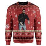 Gearhumans Ugly The Man Custom Sweater Apparel