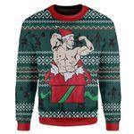 Gearhumans Custom Ugly Christmas Sweater Jumper