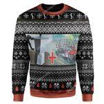 Gearhumans Ugly Cybertruck Custom Sweater Apparel