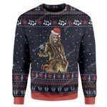 Gearhumans Ugly Iron Maiden Custom Sweater Apparel