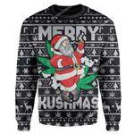 Gearhumans Ugly Christmas Santa Custom Hoodie Apparel