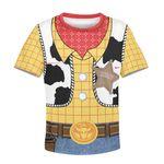 Gearhumans TOY STORY Kid Custom Hoodies T-shirt Apparel