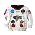 Gearhumans Nasa astronaut Kid Custom Hoodies T-shirt Apparel