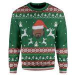 Gearhumans Ugly Snoop Custom Sweater Apparel