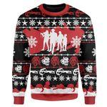 Gearhumans Custom Ugly Zombieland Christmas Sweater Jumper