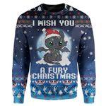 Gearhumans Ugly Fury Christmas Custom Sweater Apparel