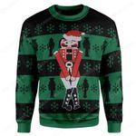 Gearhumans Custom Ugly Christmas Nutcracker Sweater Jumper