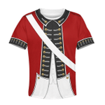 Gearhumans REVOLUTIONARY WAR UNIFORM Kid Custom Hoodies T-shirt Apparel