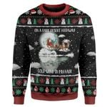 Gearhumans Ugly Christmas Santa Custom Sweater Apparel