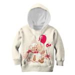 Gearhumans Sheep Giving Balloon To Bird Custom Hoodies T-shirt Apparel