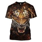 Gearhumans Lion Skull Hoodies - T-Shirts Apparel