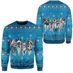 Gearhumans Ugly Christmas Kitten Gang Hoodie T-Shirts Apparel