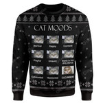 Gearhumans Ugly Cat Moods T-Shirts Hoodies Apparel
