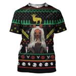 Gearhumans Ugly Mononoke Hime Custom T-shirt - Hoodies Apparel