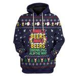 Gearhumans Ugly Christmas Jinger Beers Custom T-Shirts Hoodies Apparel