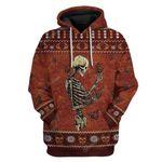 Gearhumans Ugly Skull Monarch Butterfly Custom T-Shirts Hoodies Apparel