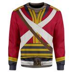 Gearhumans 3D British 2nd Heavy Dragoon Custom Sweatshirt Apparel