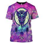 Gearhumans 3d Owl Hoodies T-Shirt Apparel