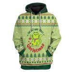 Gearhumans Ugly Christmas The Cat Who Stole Christmas Custom T-Shirts Hoodies Apparel