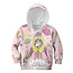 Gearhumans Unicorn Believe In Your Dream Custom Hoodies T-shirt Apparel