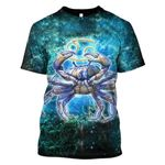 Gearhumans Zodiac Cancer Hoodies - T-Shirts Apparel