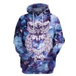 Gearhumans Owl Hoodies - T-Shirt Apparel
