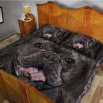 Gearhumans 3D French Bulldog Custom Quilt