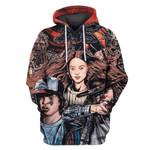 Gearhumans The Walking Dead Hoodies - T-Shirts Apparel
