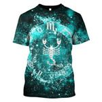 Gearhumans Zodiac Scorpius Hoodies - T-Shirts Apparel