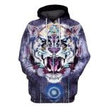 Gearhumans King Tiger Hoodies - Tshir Apparel