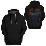 Gearhumans HALLOWEEN The Death Hoodies - T-Shirt Apparel