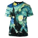 Gearhumans Starry Night Hoodies - T-Shirts Apparel