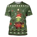Gearhumans Ugly Cthulhu Custom T-shirt - Hoodies Apparel
