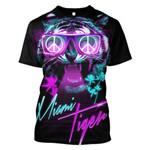 Gearhumans Miami Tiger Hoodies - T-Shirts Apparel