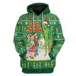Gearhumans Ugly Christmas Don't Talk Custom T-Shirts Hoodies Apparel