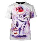 Gearhumans Christmas Cat Hoodies - T-Shirt Apparel