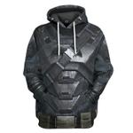 Gearhumans 3D Batman Power Suit Costume Custom Hoodie Apparel