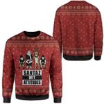 Gearhumans Ugly Santaz Wit Attitudes Custom T-shirt - Hoodies Apparel