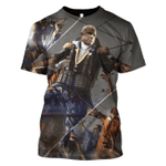 Gearhumans John McCain Versus Zombie Hoodies T-Shirt Apparel