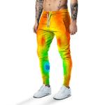 Gearhumans 3D Halloween Body Temperature Sweatpants Apparel