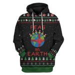 Gearhumans Ugly Peas On Earth Custom T-shirt - Hoodies Apparel