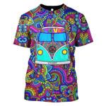Gearhumans Lovely Car Motif Hoodies T-Shirt Apparel
