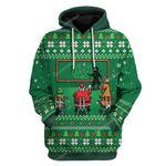 Gearhumans Ugly Christmas School Custom T-shirt - Hoodies Apparel