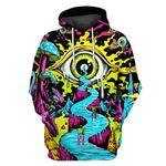 Gearhumans Wallpaper Skateboard Hoodies - T-Shirts Apparel
