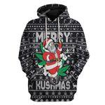 Gearhumans Ugly Christmas Santa Custom T-shirt - Hoodies Apparel