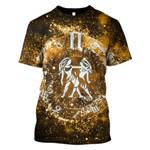 Gearhumans Zodiac Gemini Hoodies - T-Shirts Apparel