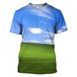 Gearhumans Wallpaper Hoodies T-Shirt Apparel