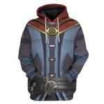 Gearhumans 3D Dr Strange Custom Hoodie Apparel
