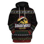 Gearhumans Bearbubble 3D Ugly Jurassic World Christmas T-Shirts Hoodies Apparel