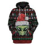Gearhumans Ugly Alien Custom T-shirt - Hoodies Apparel
